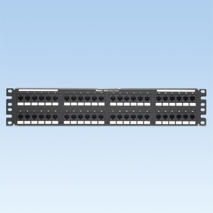PATCH PANEL (48) CAT/5E-TX